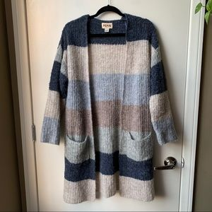 Anthropologie Pepin Wide Striped Cardigan